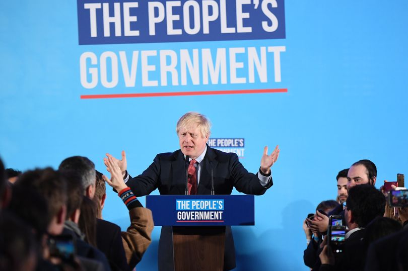 analisi elezioni UK 2019, Boris Johnson Primo Ministro